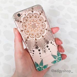 Flower Mandala Soft iPhone Case